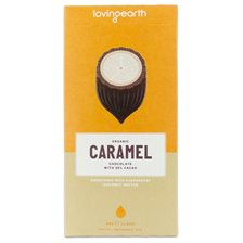Loving Earth Caramel Chocolate, 80 g