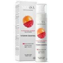 Mossa VITAMIN COCKTAIL Rehydration Energising Day Cream, 50 ml