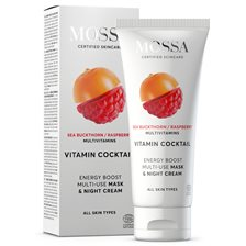 Mossa Vitamin Cocktail Energy Boost Multi-Use Mask & Night Cream, 60 ml