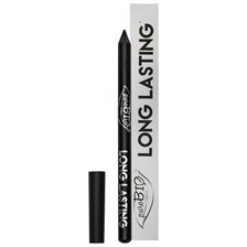 puroBIO Cosmetics Long Lasting Eye Pencil - Intense Black, 1,3 g