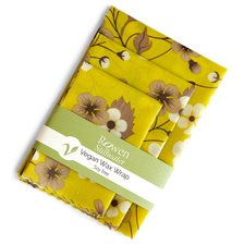 Rowen Stillwater Vegan Wax Food Wrap Value Pack - Autumn Floral, 3 st