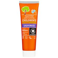 Urtekram Nordic Beauty Children's Liquorice Toothpaste, 75 ml