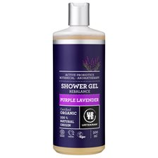 Urtekram Purple Lavender Shower Gel