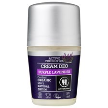 Urtekram Purple Lavender Cream Deo, 50 ml