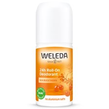 Weleda Sea Buckthorn 24h Roll-On Deodorant, 50 ml