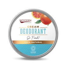 "Wooden Spoon Cream Deodorant ""Go Fresh!"", 60 ml"