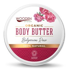 Wooden Spoon Organic Body Butter Bulgarian Rose