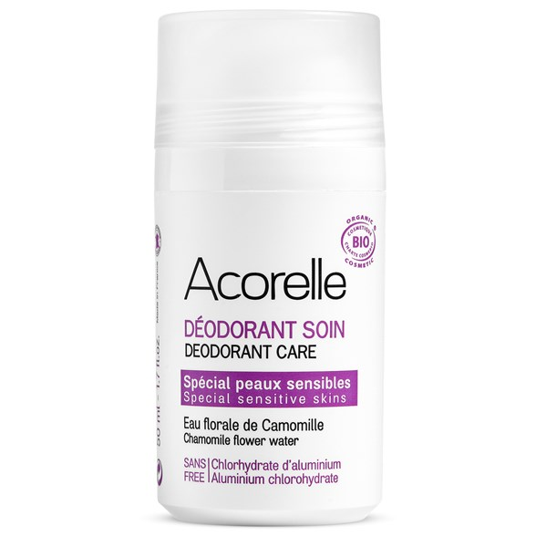 Acorelle Sensitive Skin Deodorant, 50 ml