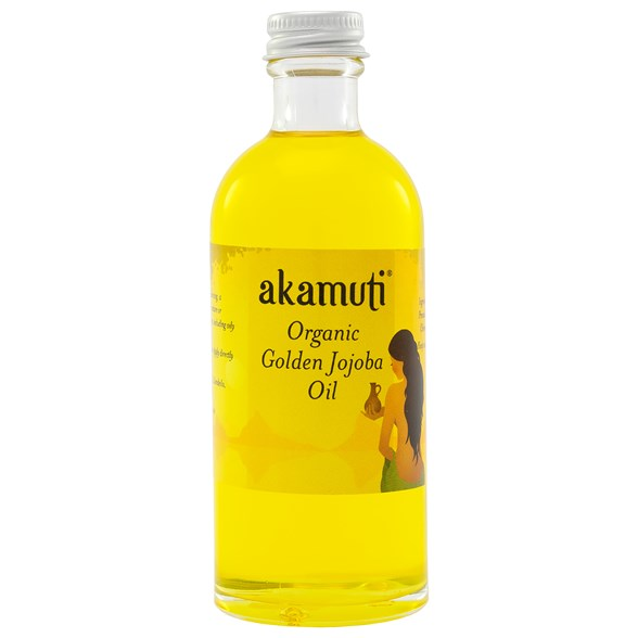 Akamuti Organic Golden Jojoba Oil, 100 ml
