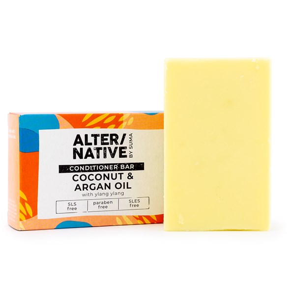 Alter/native Naturlig Handgjord Balsamtvål - Coconut & Argan Oil, 90 g