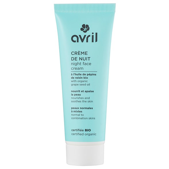 Avril Night Face Cream for Normal Skin, 50 ml