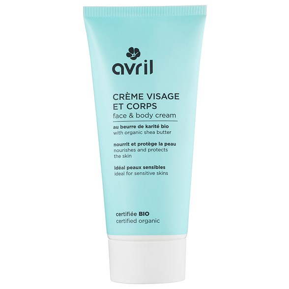 Avril Face & Body Cream with Shea Butter, 200 ml