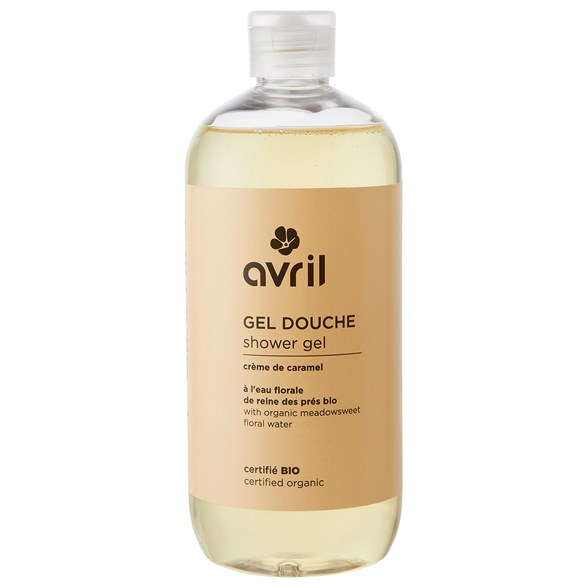 Avril Caramel Shower Gel, 500 ml