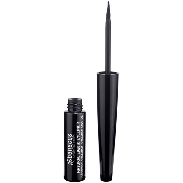 Benecos Natural Liquid Eyeliner - Black, 3 ml