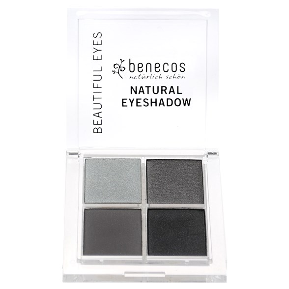Benecos Natural Quattro Eyeshadow - Smokey Eyes, 8 g