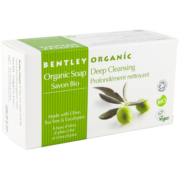 Bentley Organic Ekologisk Tvål Deep Cleansing, 150 g