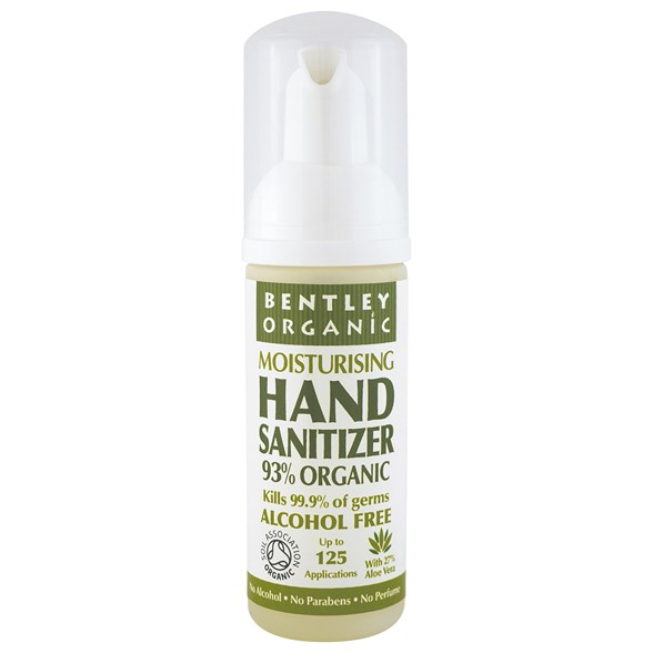 Bentley Organic Moisturising Hand Sanitizer, 50 ml