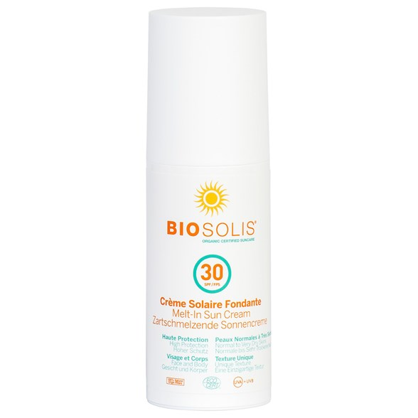 Biosolis Melt-In Sun Cream SPF 30, 100 ml