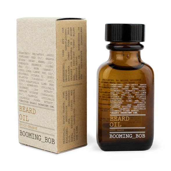Booming Bob Beard Oil Spicy Orange, 30 ml
