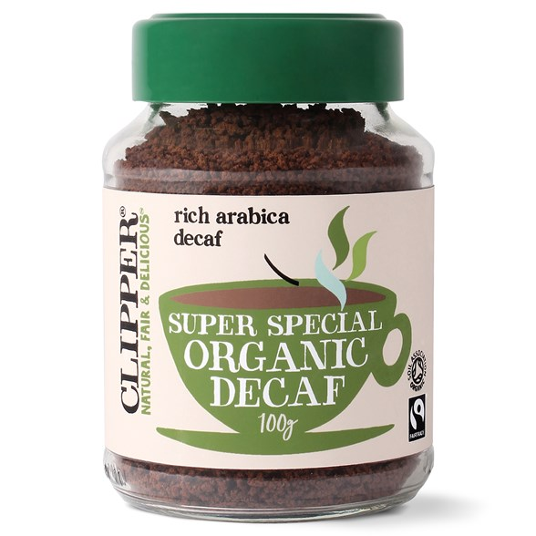 Clipper Super Special Organic Decaf Coffee, 100 g