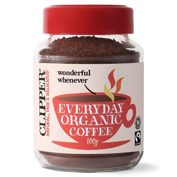 Clipper Everyday Organic Coffee, 100 g