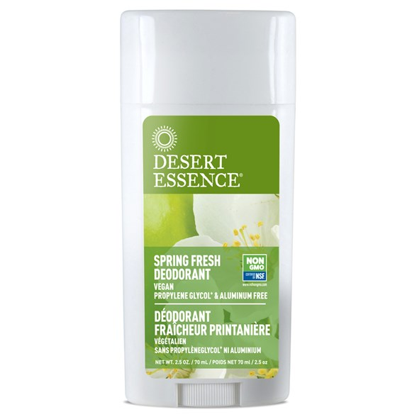 Desert Essence Spring Fresh Deodorant, 70 ml