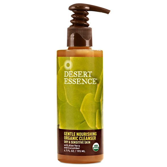 Desert Essence Gentle Nourishing Organic Cleanser, 195 ml