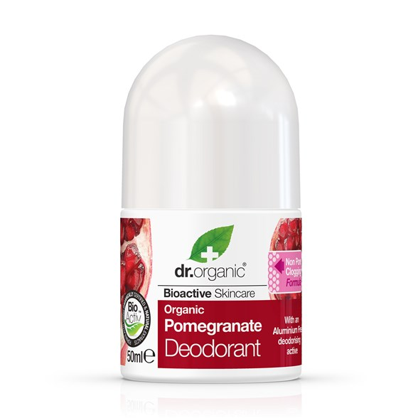 Dr. Organic Pomegranate Deodorant, 50 ml