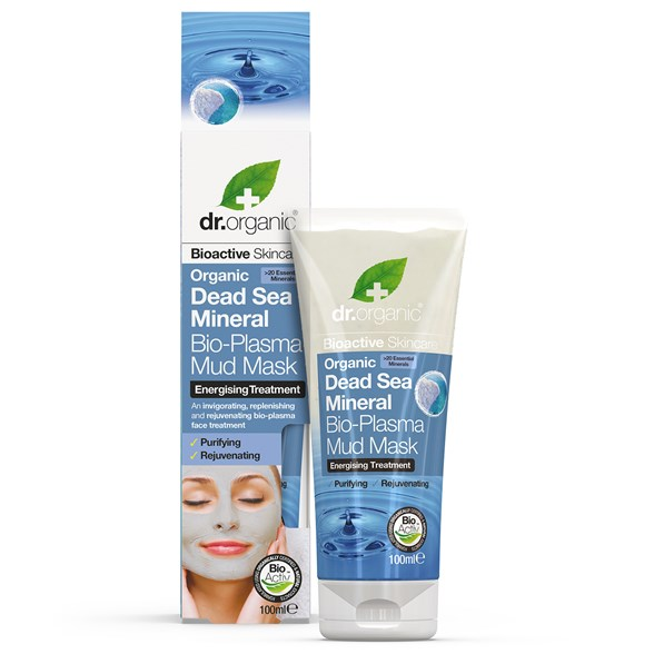Dr. Organic Dead Sea Mineral Bio-Plasma Mud Mask, 100 ml