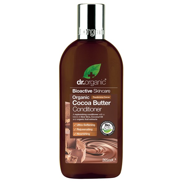 Dr. Organic Cocoa Butter Conditioner, 265 ml