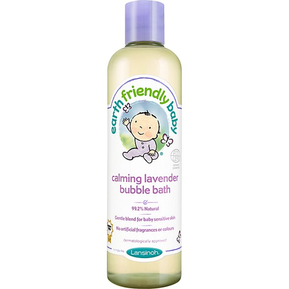 Earth Friendly Baby Calming Lavender Bubble Bath, 300 ml
