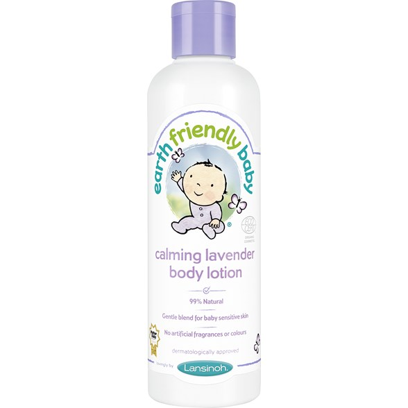 Earth Friendly Baby Calming Lavender Body Lotion, 250 ml