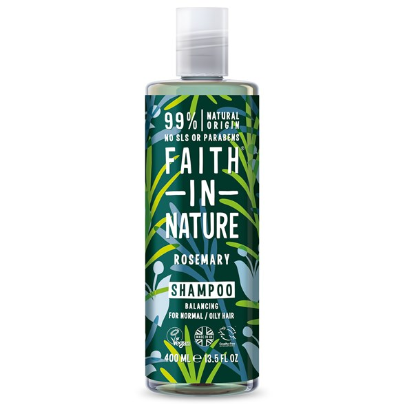 Faith in Nature Rosemary Shampoo, 400 ml