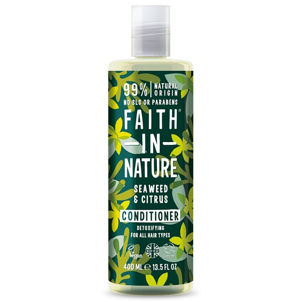 Faith in Nature Seaweed & Citrus Conditioner, 400 ml