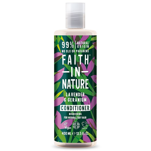 Faith in Nature Lavender & Geranium Conditioner, 400 ml