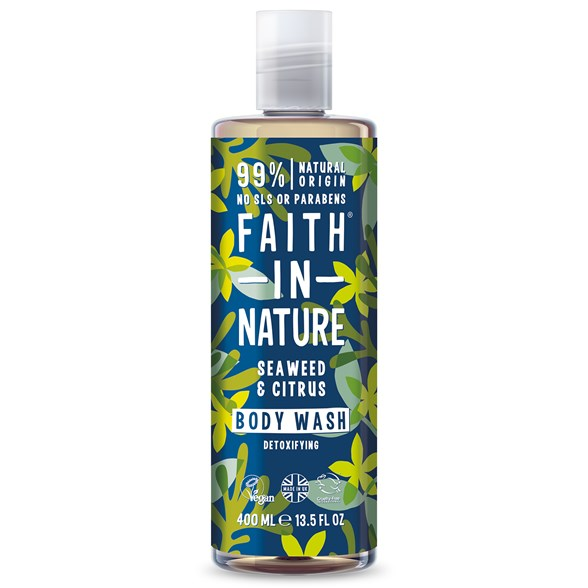 Faith in Nature Seaweed & Citrus Body Wash, 400 ml