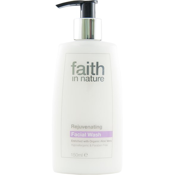 Faith in Nature Rejuvenating Facial Wash, 150 ml