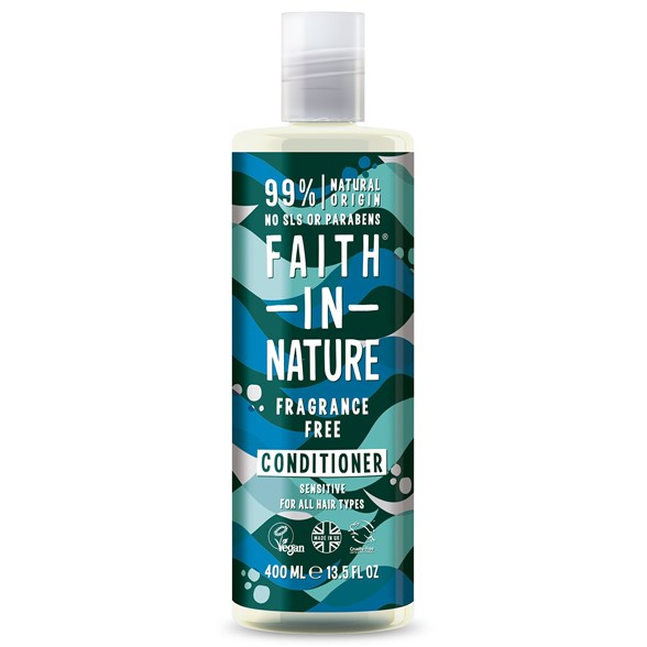 Faith in Nature Fragrance Free Conditioner, 400 ml