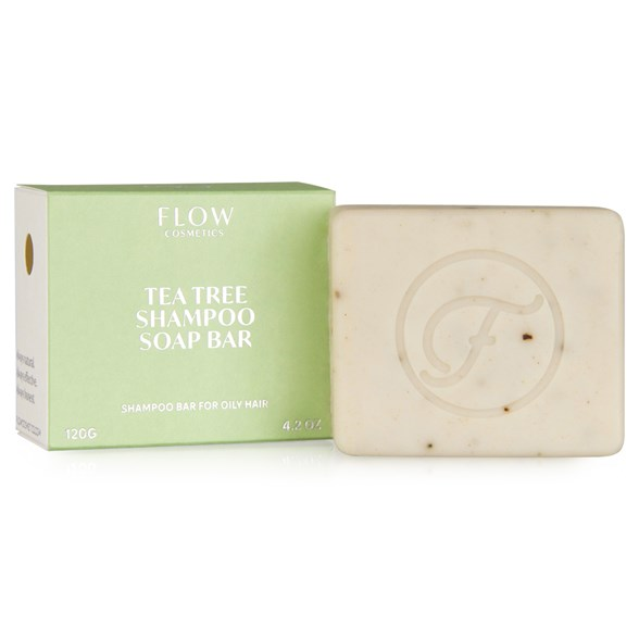 Flow Cosmetics Ekologisk Schampotvål Tea Tree, 120 g