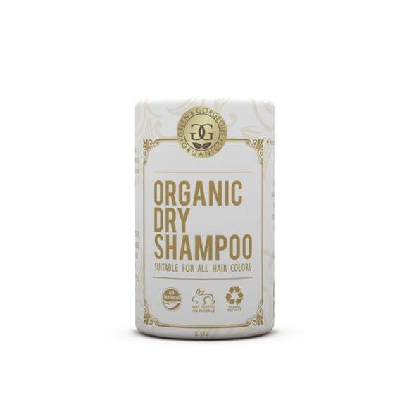 Green & Gorgeous Organic Dry Shampoo Uscented - Travel Size, 28 g