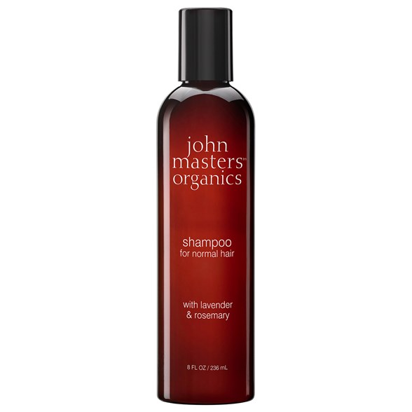 John Masters Organics Shampoo for Normal Hair with Lavender & Rosemary, 236 ml