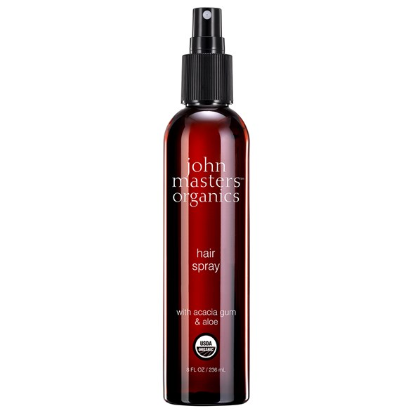 John Masters Organics Hair Spray with Acacia Gum & Aloe, 236 ml