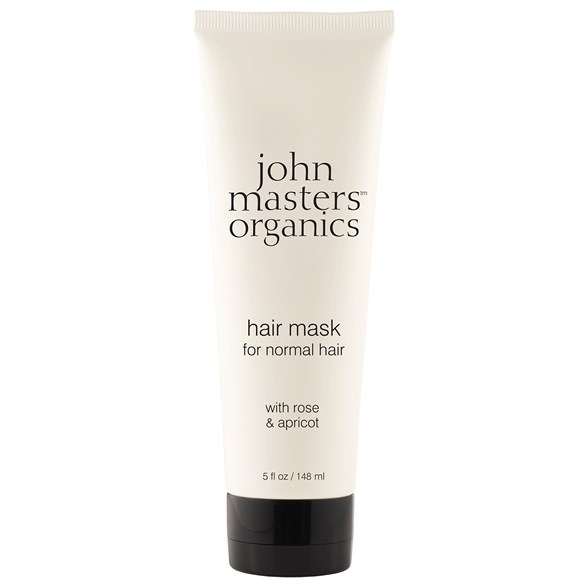 John Masters Organics Hair Mask for Normal Hair with Rose & Apricot, 148 ml