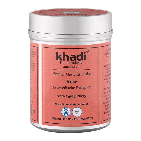 Khadi Herbal Face Mask Rose, 50 g