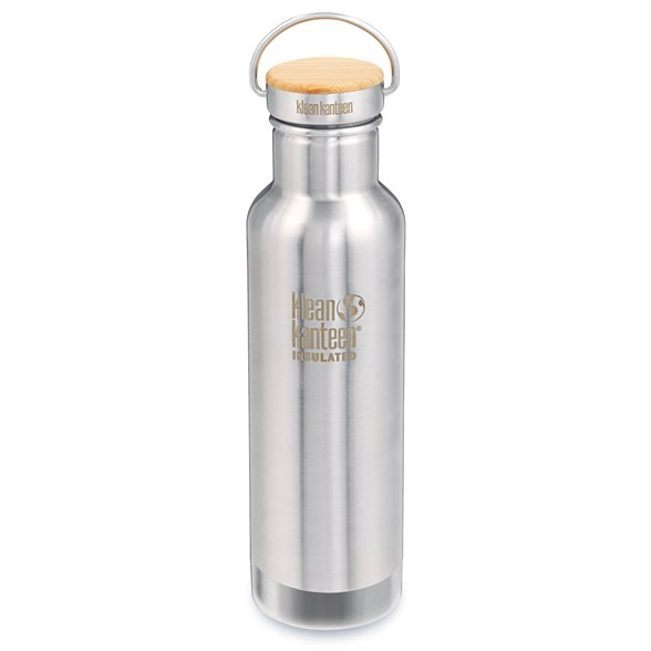 Klean Kanteen Reflect Isolerad Vattenflaska - Brushed Stainless, 592 ml