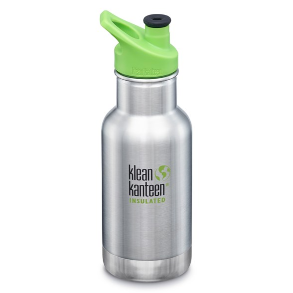 Klean Kanteen Kid Classic Sportflaska Isolerad - Brushed Stainless, 355 ml