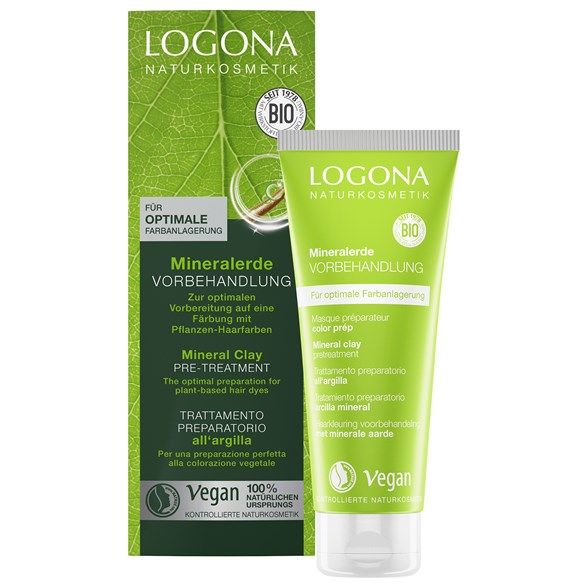 Logona Mineral Clay Pre-Treatment, 100 ml
