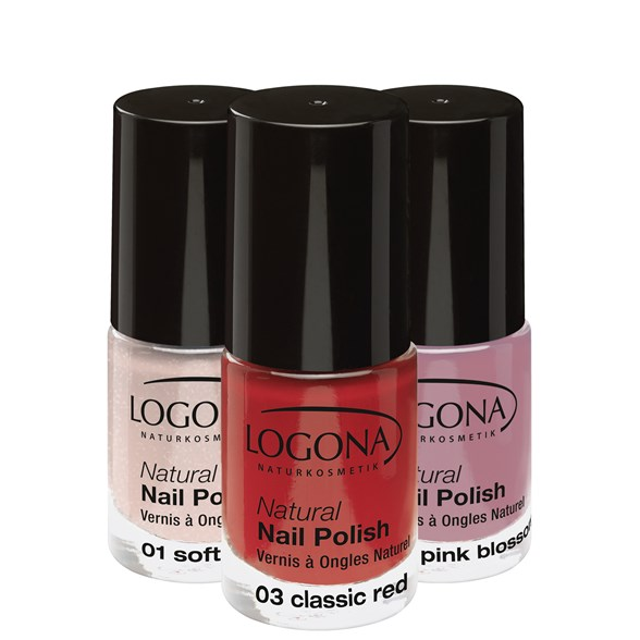 Logona Natural Nail Polish, 4 ml
