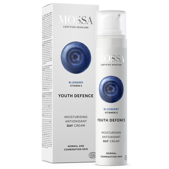 Mossa YOUTH DEFENCE Moisturising Antioxidant Day Cream, 50 ml
