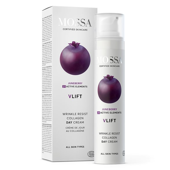Mossa V-LIFT Wrinkle Resist Collagen Day Cream, 50 ml